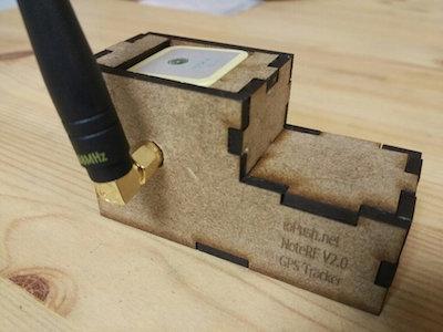 LoRaWAN GPS tracker
